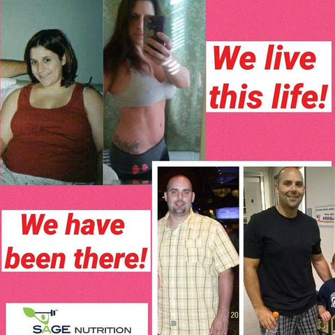 SAGE NUTRITION BEFORE AFTER