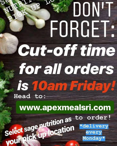 Apex Meals RI Meal Prep Seekonk Fresh Healthy