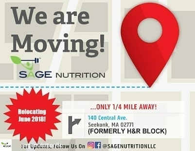 Sage nutrition seekonk perform innovation