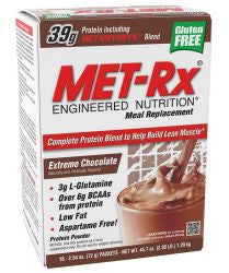 Met Rx Meal Replacement - Extreme Chocolate (18 Packets)