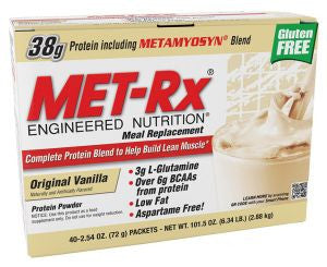 Met Rx Meal Replacement - Original Vanilla (40 Packets)