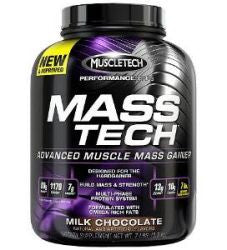 Muscletech Mass Tech - Milk Chocolate (7 Pound Powder)
