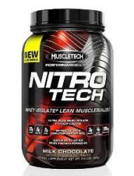 Muscletech Nitro Tech - Milk Chocolate (2 Pound Powder) 21 SERVINGS
