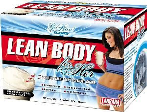 Labrada Nutrition Lean Body For Her - VANILLA (20 Packets)