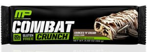 MusclePharm Combat Crunch - COOKIES N CREAM (12 Bars) 1 BOX