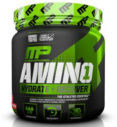 MusclePharm Amino 1 - FRUIT PUNCH (345 Grams Powder) 30 SERVINGS