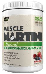 Muscle Martini Natural - MIXED BERRY (360 Grams Powder)