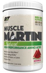 GAT Muscle Martini Natural - WATERMELON (360 Grams Powder)
