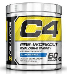Cellucor_C4_ICY_BLUE_RAZZ_195_Grams_Powder