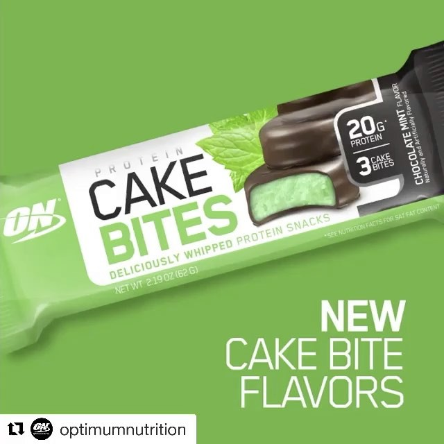 OPTIMUM NUTRITION CAKE BITES ALL FLAVORS