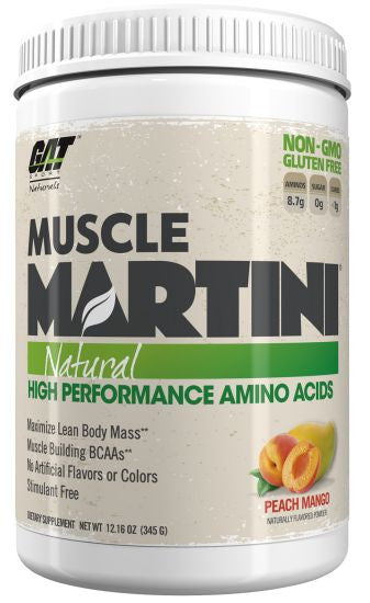 GAT MUSCLE MARTINI PEACH MANGO