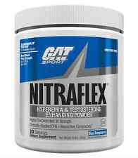 GAT Nitraflex - BLUE RAZZ (300 Grams Powder)