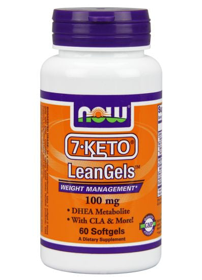 Now Foods 7-Keto 100 mg - 60 Vegetarian Capsules