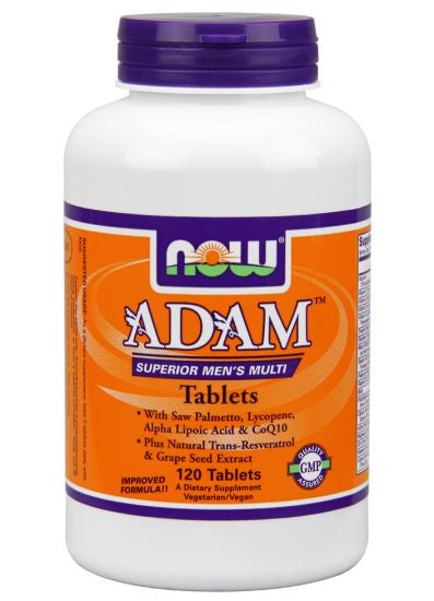 NOW ADAM Men's Multivitamin 120T