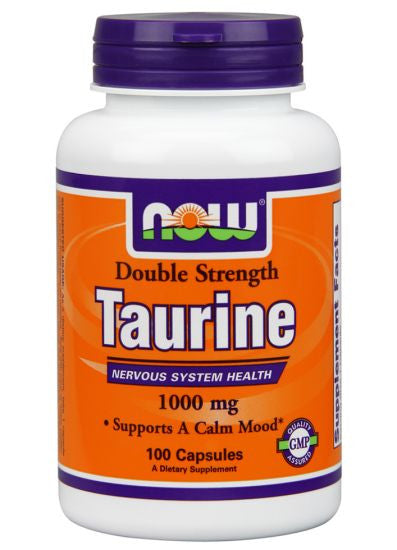 NOW Foods Taurine 1000 mg - 100 Capsules
