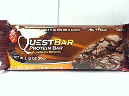 QUEST BAR CHOCOLATE BROWNIE (12) BARS 1 WHOLE BOX