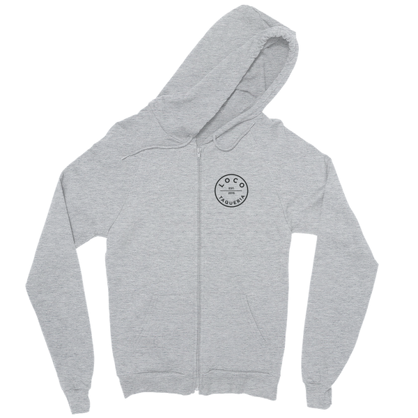 Loco Alternate Logo Full Zip Sweatshirt (Gray)