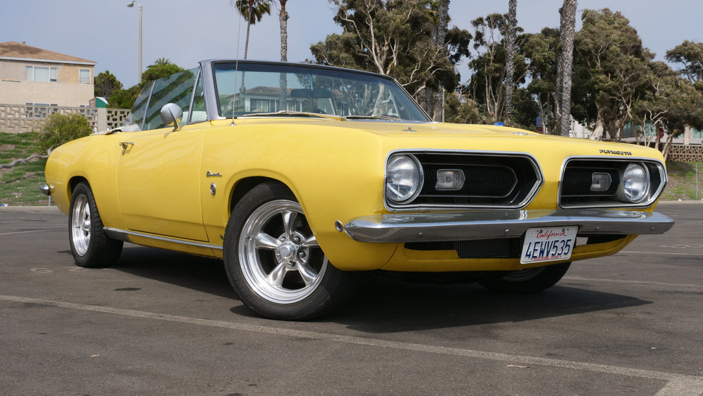 FOR SALE: 1968 Plymouth Barracuda 340 Formula S Convertible Clone