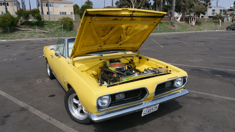 1968 Plymouth Barracuda 340 Formula S Convertible Clone Hood