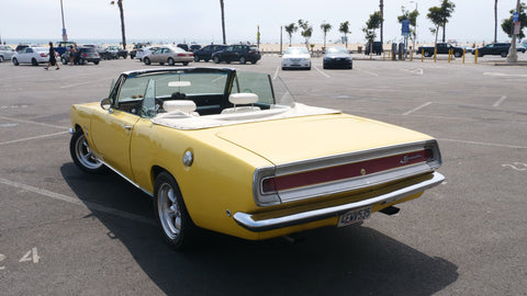 1968 Plymouth Barracuda 340 Formula S Convertible Clone Rear End