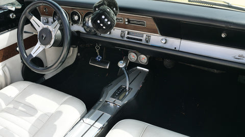 1968 Plymouth Barracuda 340 Formula S Convertible Clone Interior