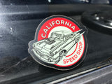 California Speed Shop Sticker