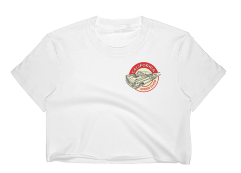 California Speed Shop Official Crop Top