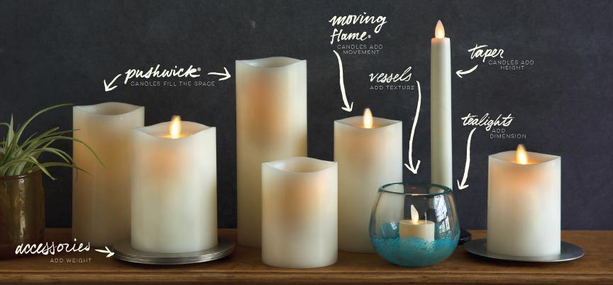 How to Candlescape