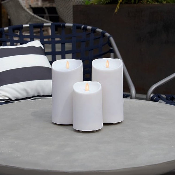Luminara outdoor candles