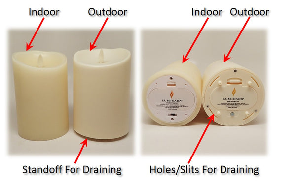 Luminara Flameless Outdoor Candles
