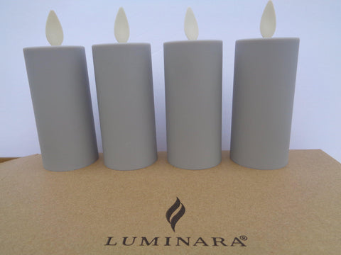 Luminara Flameless Votive 4-Piece Set - Defective