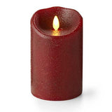 "Luminara 5"" Country Rio Red Flameless Candle - Unscented"