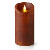 "Luminara 7"" Country Yam Flameless Candle - Unscented"