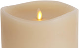 Luminara Large Ivory Flameless Candle w/ 360° Top - 6 x 10""