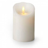 "Luminara 3"" x 4"" Classic Flameless Candle - White Unscented"