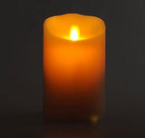 "Luminara 3.5""x 5"" Classic Flameless Candle - Ivory Vanilla Scented"