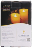 "Luminara 3""x 4"" 360 Flameless Candle - White Unscented"