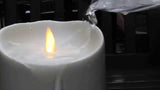 "Luminara 5"" Outdoor Flameless Candle - Ivory"