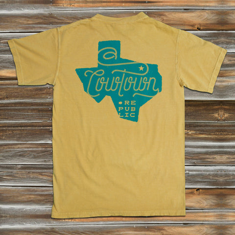 STATE OF TEXAS in MUSTARD