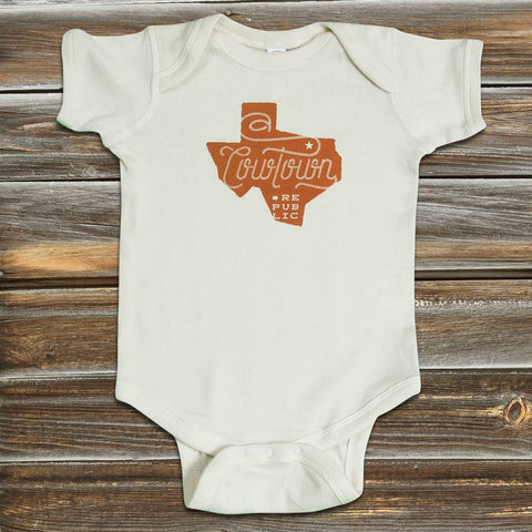 TEXAS INFANT ONESIE