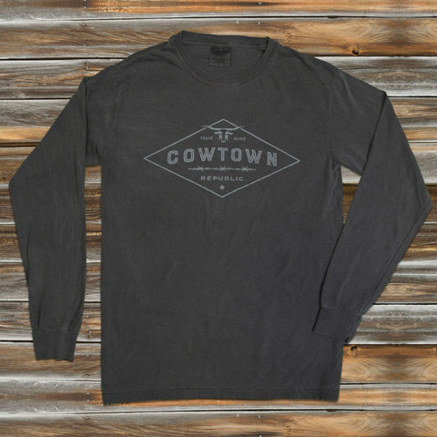 DIAMOND TRADEMARK in PEPPER LONG SLEEVE