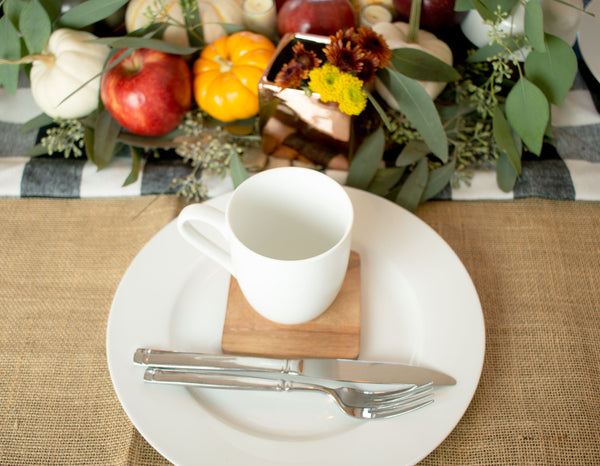 Fall Table Setting and Decor
