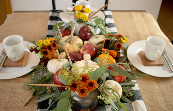 Fall Tablescape with Modern Farmhouse Inspiration