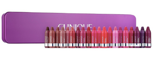 Clinique the Chubbettes LipStick Set Tin 20 Assorted Colors Limited Edition
