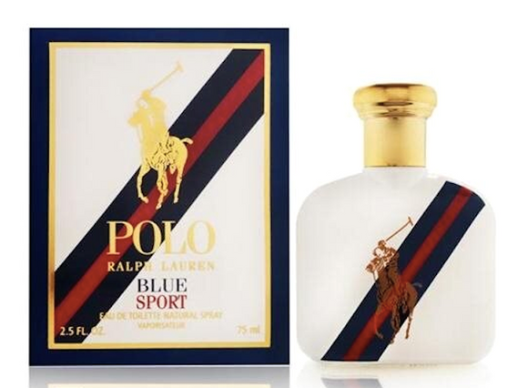 Polo Blue Sport by Ralph Lauren for Men 2.5 oz Eau de Toilette Spray
