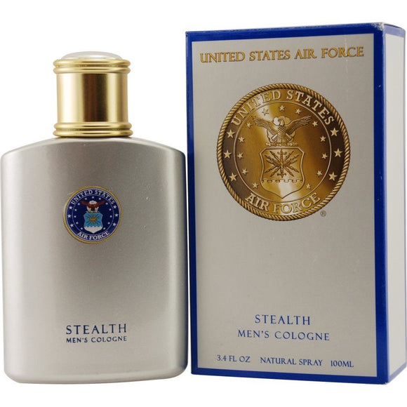 US Air Force Stealth by Parfumologie for Men 3.4 oz Cologne Spray - FragranceAndBeauty.com