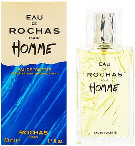 Eau De Rochas (Vintage) Pour Homme by Rochas for Men 1.7 oz Eau de Toilette Spray - FragranceAndBeauty.com
