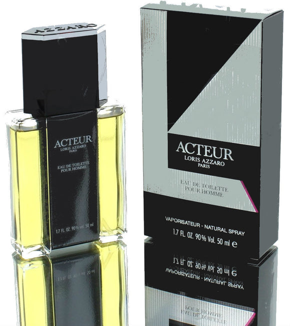 Acteur by Loris Azzaro for Men 1.7 oz Eau de Toilette Spray - FragranceAndBeauty.com