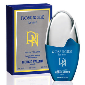 Rose Noire by Giorgio Valenti for Men 3.3 oz Eau de Toilette Spray - FragranceAndBeauty.com