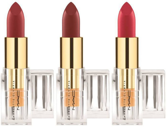 MAC Charlotte Olympia Matte Lipstick (Select Color) 3 g/.1 oz Full Size - FragranceAndBeauty.com